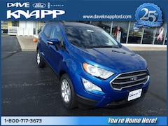 New Ford for sale  2018 Ford EcoSport SE SUV in Greenville, OH