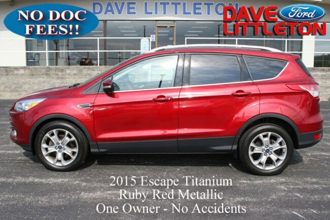 2015 Ford Escape Titanium FWD  Titanium