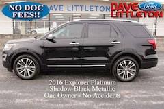 2016 Ford Explorer Platinum 4WD  Platinum
