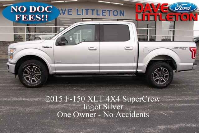 2015 Ford F-150 XLT 4WD SuperCrew 145 XLT