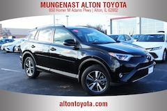 New Toyota for sale  2018 Toyota RAV4 XLE SUV 2T3RFREV9JW711241 in Alton, IL