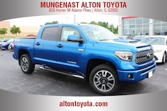 New Toyota for sale  2018 Toyota Tundra SR5 5.7L V8 w/FFV Truck CrewMax 5TFDW5F11JX770990 in Alton, IL