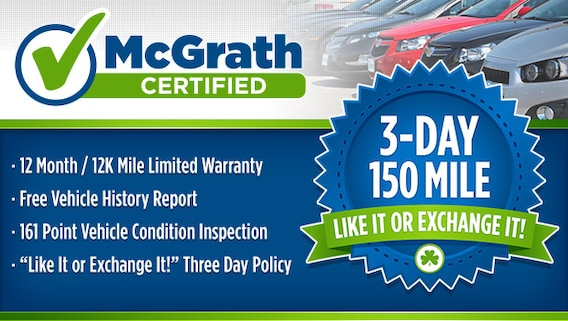 Used Cars & Trucks For Sale in Davenport | McGrath Used Car