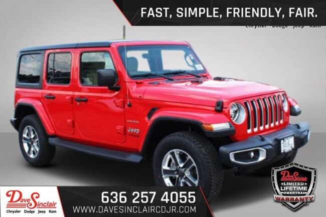 2018 Jeep Wrangler Unlimited UNLIMITED SAHARA 4X4 Sport Utility
