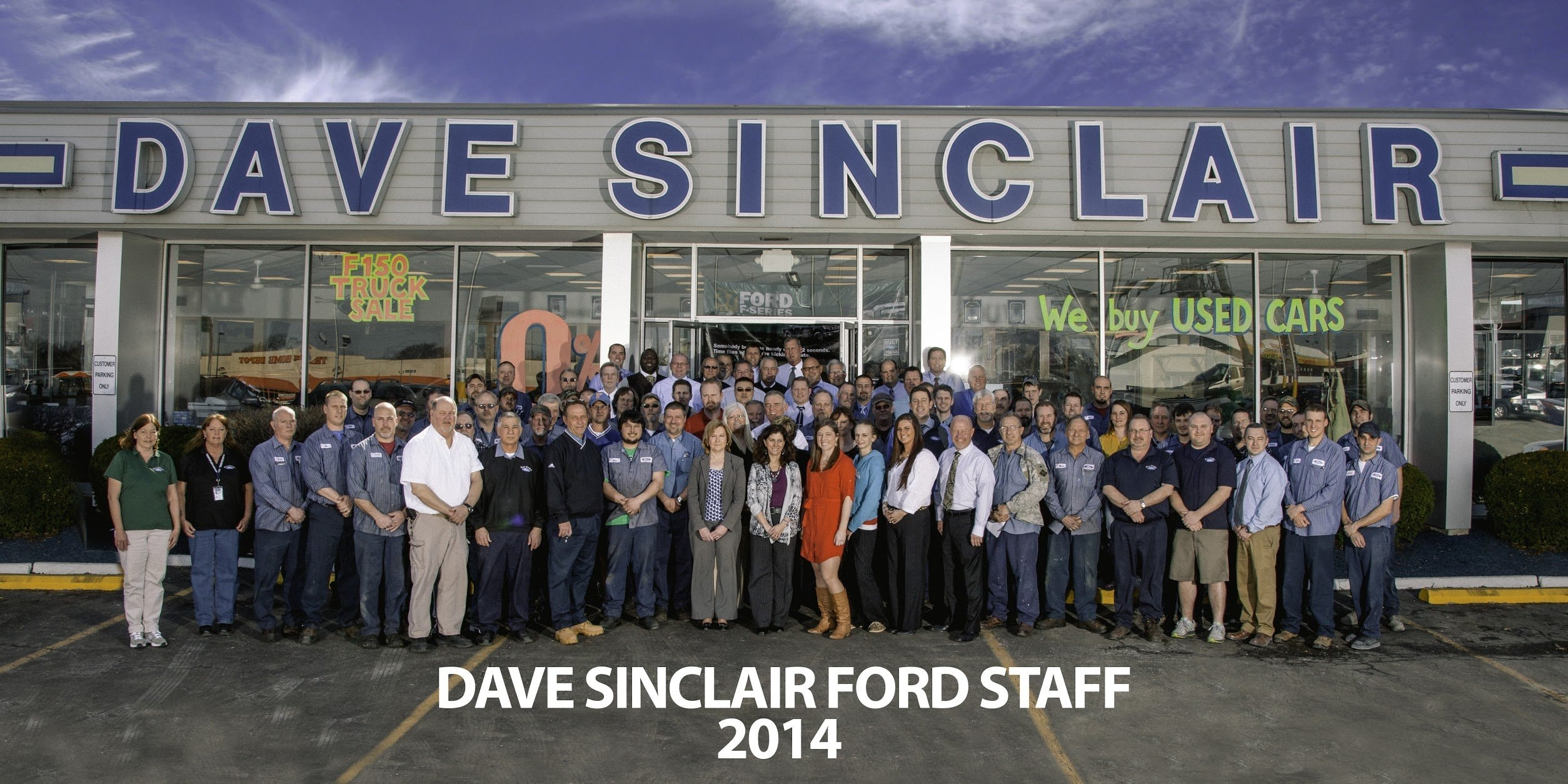 Dave Sinclair Ford Dealership Near Chesterfield Missouri
