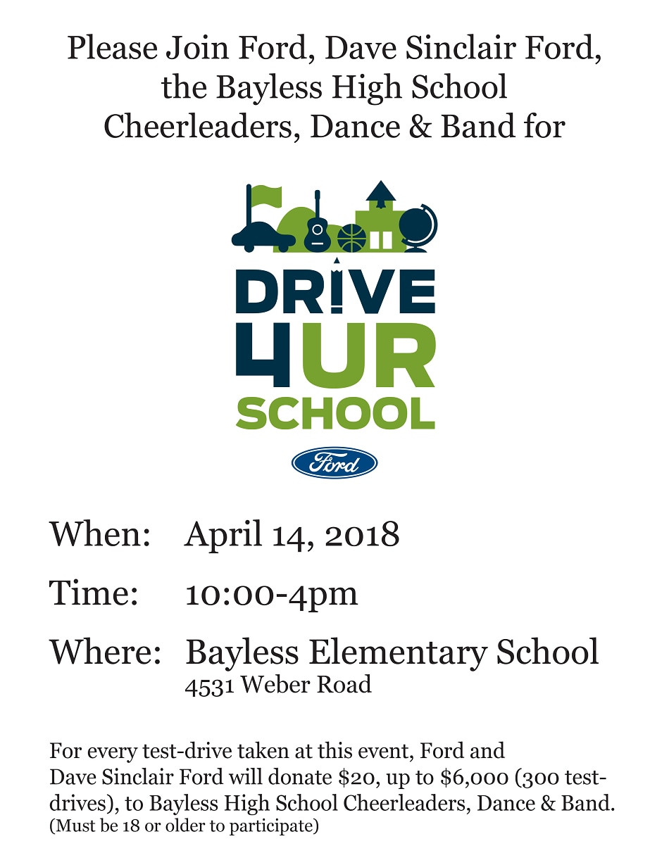 Drive 4 Ur School For Bayless High School