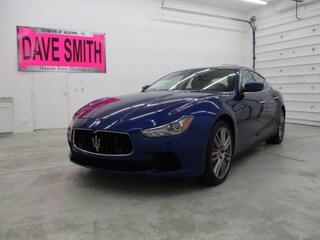 2017 Maserati Ghibli S Q4 Car