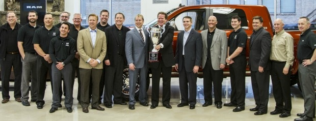 Dave Smith Motors Receives 2012 World Champions Award