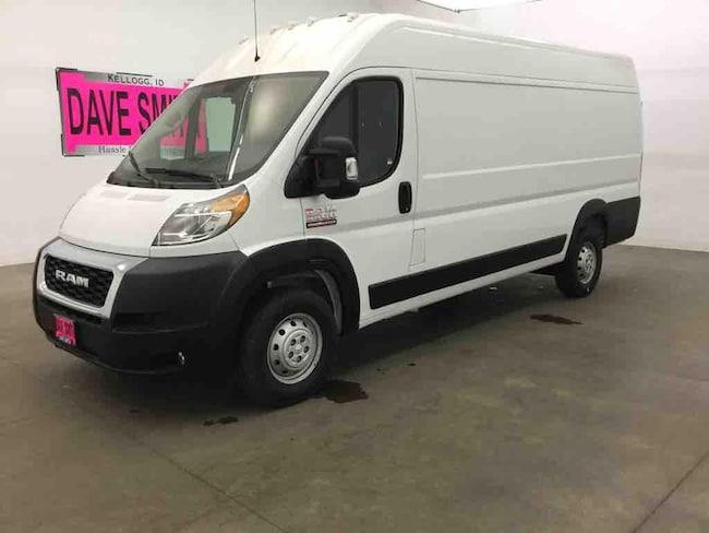2019 Ram Promaster 3500 High Roof 159WB 3 Door Van; Cargo