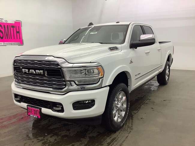 2019 Ram 3500 Limited 4x4 Crew Cab 6'4 Box