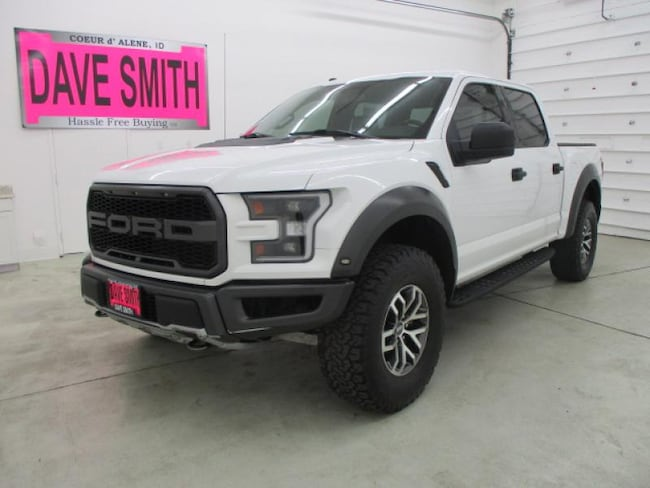 2018 Ford F-150 Raptor Super Crew Cab Short Box Truck SuperCrew Cab
