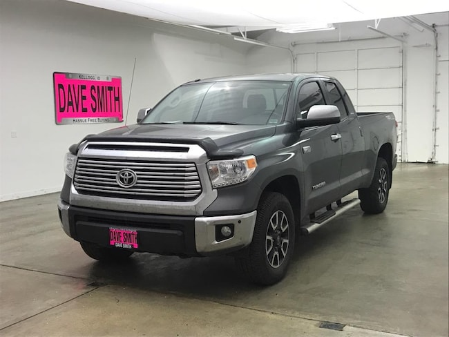 2016 Toyota Tundra Limited Double Cab Short Box Truck Double Cab