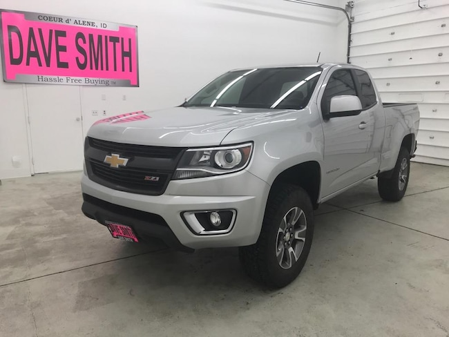 2018 Chevrolet Colorado Z71 Extended Cab Short Box Truck Extended Cab