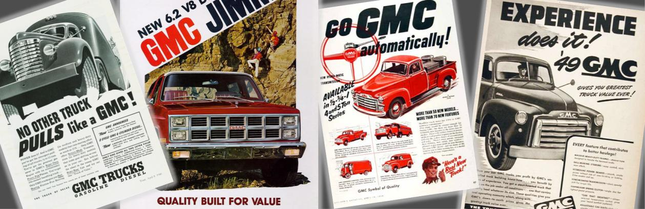 GMC brochures, online GMC brochures, GMCs for sale