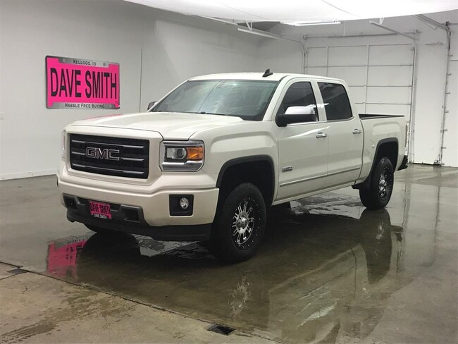 What Does Slt Mean On A Gmc Truck >> Certified 2015 Gmc Sierra 1500 Dave Smith Motors 13704za