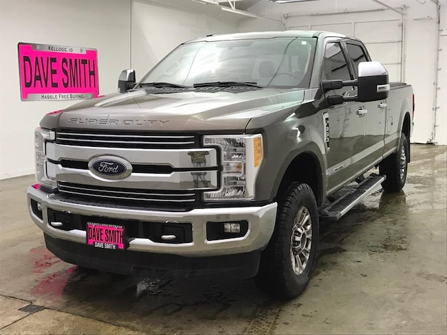 Carfax Customer Service >> Used 2017 Ford F-350 Lariat Super Duty Crew Cab Long Box ...