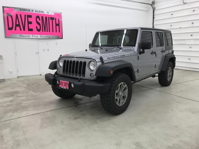 Used 2014 Jeep Wrangler Unlimited Rubicon | Dave Smith