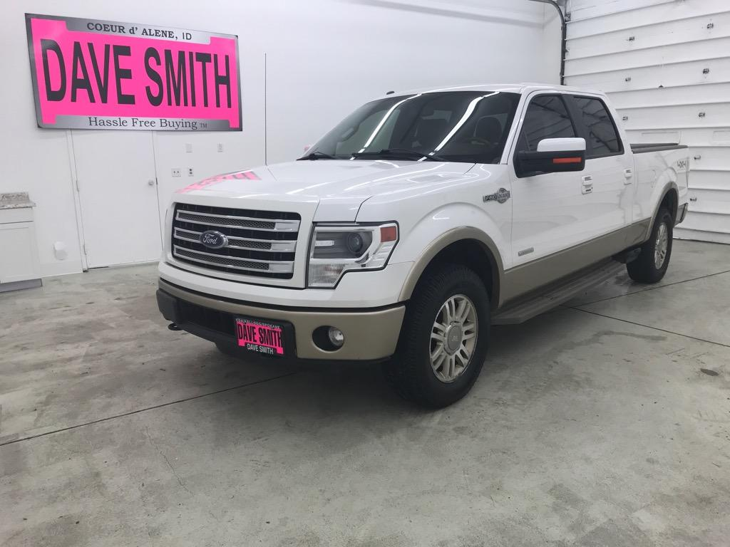 2014 Ford F-150 King Ranch Crew Cab Short Box Truck SuperCrew Cab