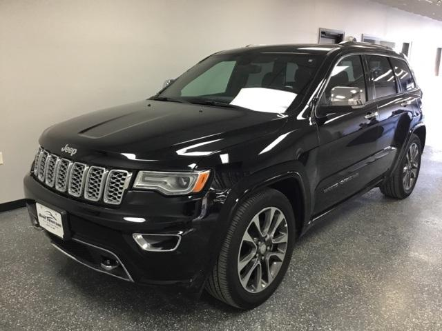 Featured used 2018 Jeep Grand Cherokee Overland 4x4 SUV for sale in Albert Lea, MN