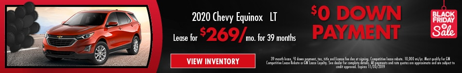 New 2020 Chevy Equinox LT | Lease