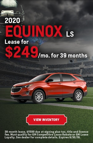 September | 2020 Equinox LS | Lease Offer