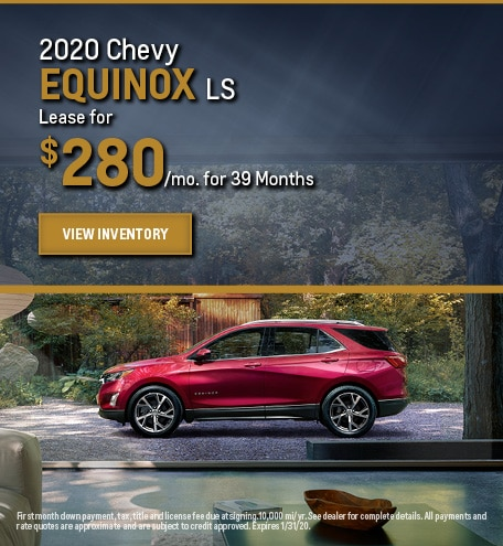 New 2020 Chevy Equinox LS | Lease