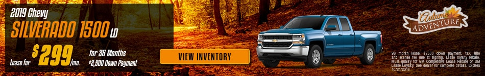 New 2019 Chevy Silverado 1500 LD | Lease