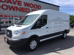 2018 Ford Transit Base w/Sliding Pass-Side Cargo Door Van Medium Roof Cargo Van