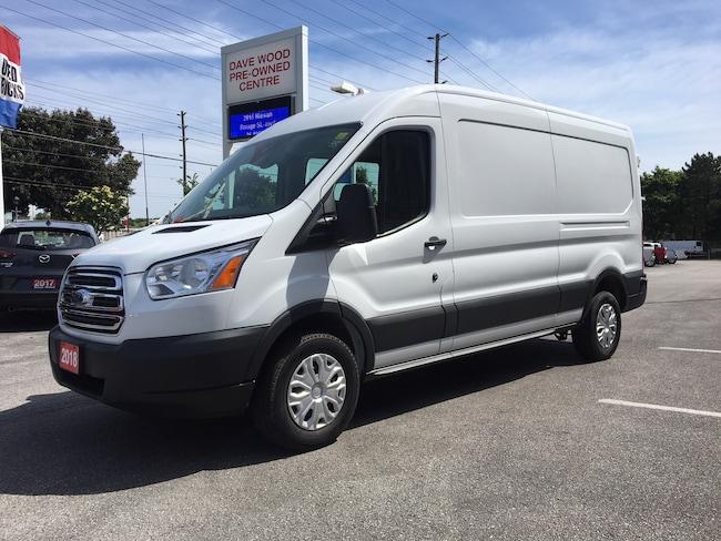 2018 Ford Transit Base w/Sliding Pass-Side Cargo Door Van Medium Roof Cargo Van