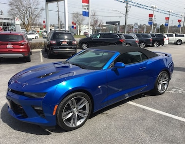 2017 Chevrolet Camaro 2SS. leather, nav Convertible