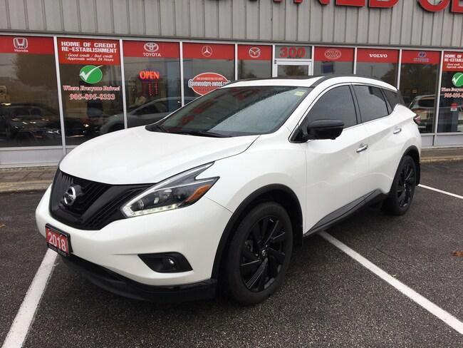 2018 Nissan Murano Midnight Edition.leather,roof, nav.  SUV