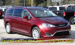 2019 Chrysler Pacifica TOURING L Passenger Van 2C4RC1BG3KR541440 for sale in Corry, PA at DAVID Corry Chrysler Dodge Jeep Ram