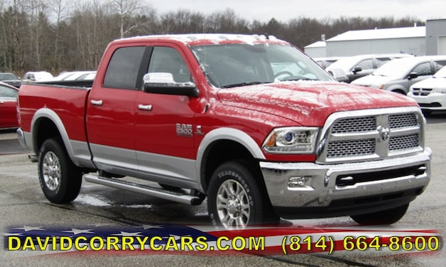 New 2018 Ram 2500 LARAMIE CREW CAB 4X4 6'4 BOX Crew Cab for sale in Corry, PA at DAVID Corry Chrysler Dodge Jeep Ram