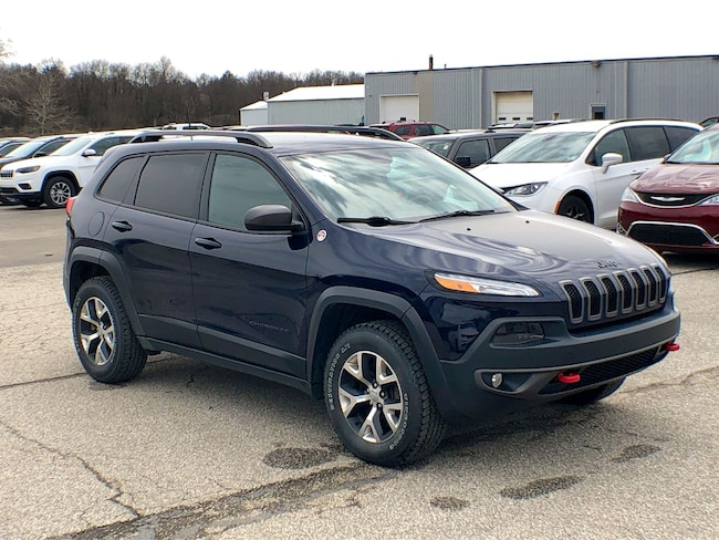 Used 2016 Jeep Cherokee Trailhawk SUV for sale in Corry, PA at DAVID Corry Chrysler Dodge Jeep Ram