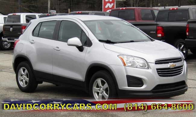 Used 2015 Chevrolet Trax LS AWD  LS w/1LS for sale in Corry, PA at DAVID Corry Chrysler Dodge Jeep Ram