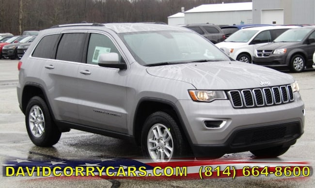New 2019 Jeep Grand Cherokee LAREDO E 4X4 Sport Utility for sale in Corry, PA at DAVID Corry Chrysler Dodge Jeep Ram