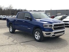 2019 Ram 1500 BIG HORN / LONE STAR CREW CAB 4X4 5'7 BOX Crew Cab 1C6SRFFT8KN750200 for sale in Corry, PA.