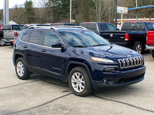 Used 2016 Jeep Cherokee Latitude SUV for sale in Corry, PA at DAVID Corry Chrysler Dodge Jeep Ram