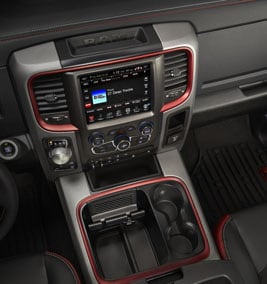 Ram 1500 Rebel Interior
