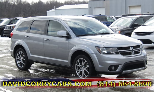 Used 2017 Dodge Journey GT SUV for sale in Corry, PA at DAVID Corry Chrysler Dodge Jeep Ram