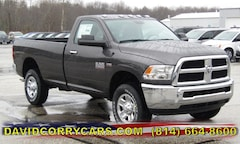 2018 Ram 2500 SLT REGULAR CAB 4X4 8' BOX Regular Cab 3C6LR5BT8JG382709 for sale in Corry, PA at DAVID Corry Chrysler Dodge Jeep Ram