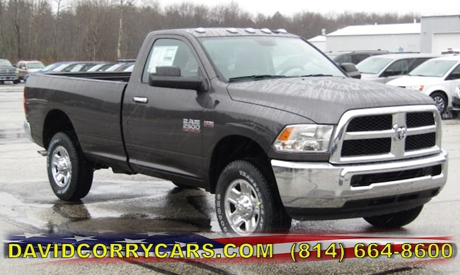 New 2018 Ram 2500 SLT REGULAR CAB 4X4 8' BOX Regular Cab for sale in Corry, PA at DAVID Corry Chrysler Dodge Jeep Ram