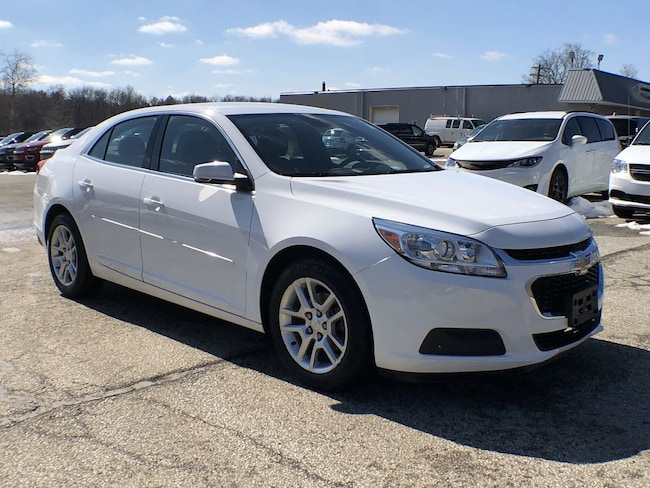 Used 2015 Chevrolet Malibu LT Sedan for sale in Corry, PA at DAVID Corry Chrysler Dodge Jeep Ram