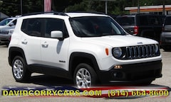 2018 Jeep Renegade LATITUDE 4X4 Sport Utility for sale in Corry, PA at DAVID Corry Chrysler Dodge Jeep Ram