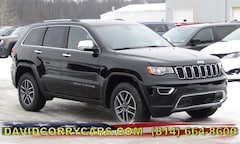 2019 Jeep Grand Cherokee LIMITED 4X4 Sport Utility for sale in Corry, PA at DAVID Corry Chrysler Dodge Jeep Ram