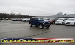 2019 Jeep Wrangler UNLIMITED SPORT S 4X4 Sport Utility for sale in Corry, PA at DAVID Corry Chrysler Dodge Jeep Ram