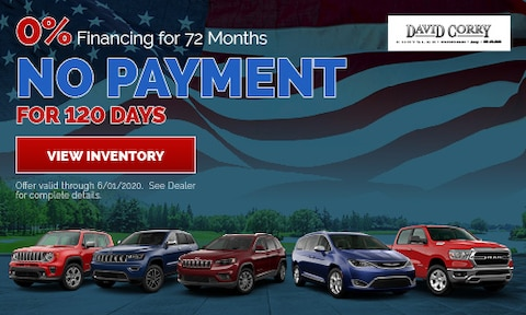 0% Financing for 72 Months No Payment for 120 Days