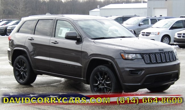 New 2019 Jeep Grand Cherokee ALTITUDE 4X4 Sport Utility for sale in Corry, PA at DAVID Corry Chrysler Dodge Jeep Ram