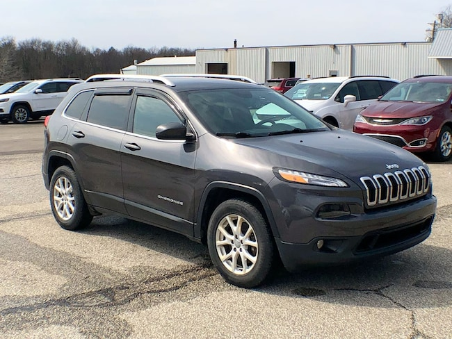 Used 2015 Jeep Cherokee Latitude SUV for sale in Corry, PA at DAVID Corry Chrysler Dodge Jeep Ram