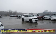 2019 Dodge Durango GT AWD Sport Utility 1C4RDJDG3KC734285 for sale in Corry, PA at DAVID Corry Chrysler Dodge Jeep Ram